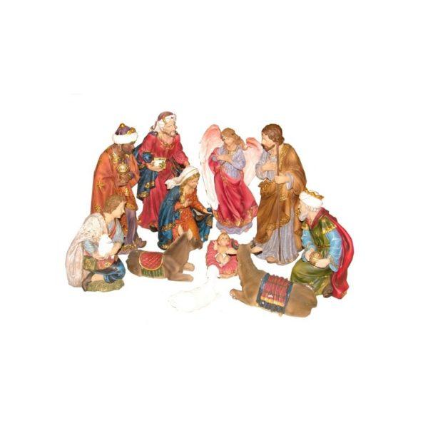 11 Inches Nativity Set Resin 11 Pcs.RNS11