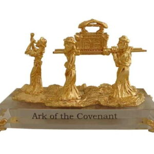 Ark Of The Covenant Israel crystal 24K gold Plating