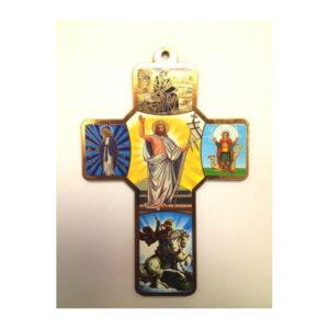 Jesus Wooden Croos CCC03