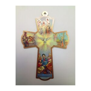 Holy Spirit Wooden Croos CCC05