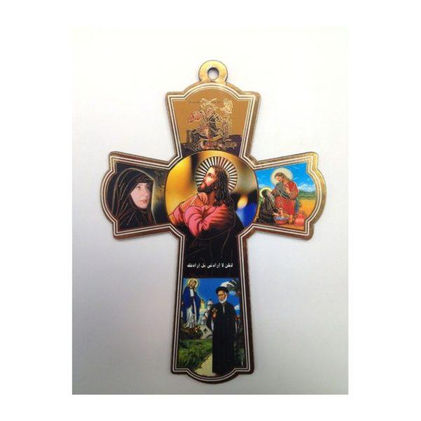 Jesus Wooden Cross CCC07