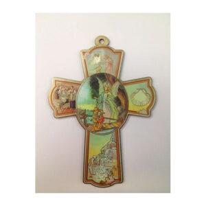 Angel With Children Wooden Cross CCC09