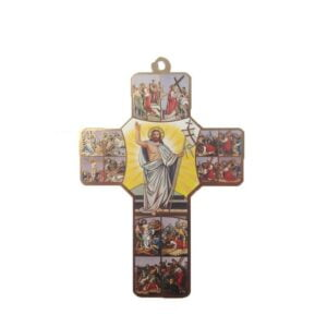 Jesus Wooden Cross CCC10