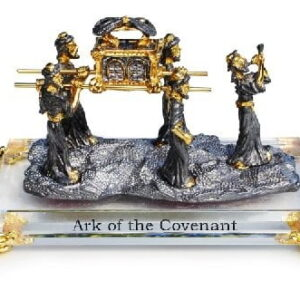 Ark Of The Covenant Israel crystal gold pewter Plating