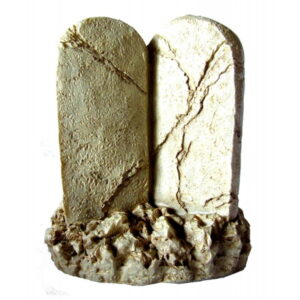 Poly Resin 10 Commandments