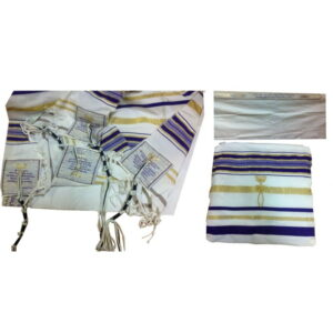 Purple Prayer Shawl Messianic Christian Sign Tallit 72*22