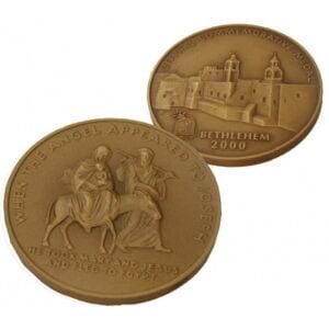 B2000 Flight to Egypt Coin – Three Sizes – Bronze FB60MM