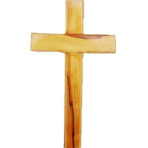 Wholesale Lot of 100 Olive Wood Crosses 3″ X 2″