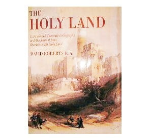 123 DRAWINGS OF THE HOLYLAND ISRAEL DAVID ROBERTS BDR01