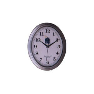 Bethlehem 2000 Logo Silver Oval Clock BLWA1I