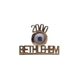Bethlehem 2000 Logo Clock BLWA7
