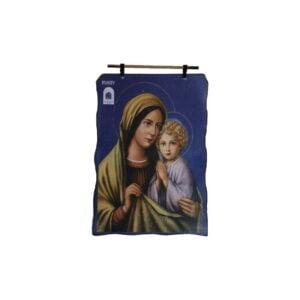 Bethlehem 2000 Logo Mary & Child Wax Picture BLWP4