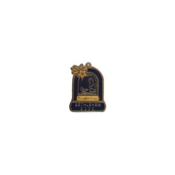 Bethlehem 2000 Logo Brass Hanger BLHG0