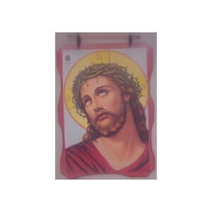 Bethlehem 2000 Logo Jesus With The Crown Wax Picture BLWP06