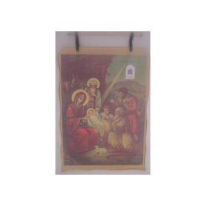 Bethlehem 2000 Logo Nativity Scene Wax Picture BLWP09