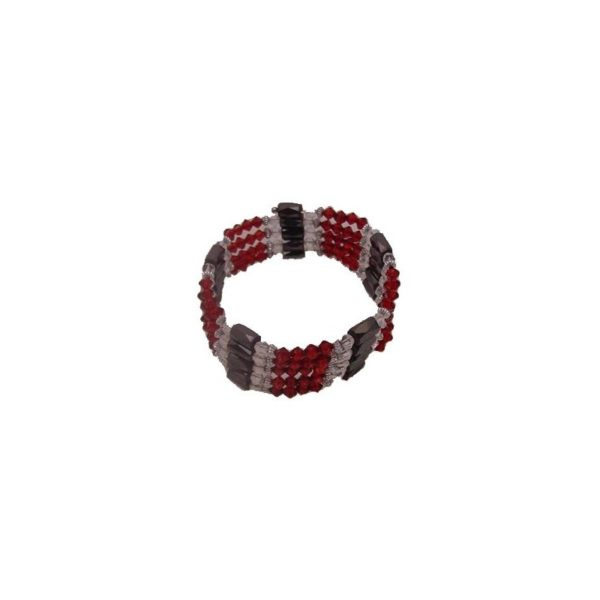 Maroon Magnetic Bracelet 36 Inches Long