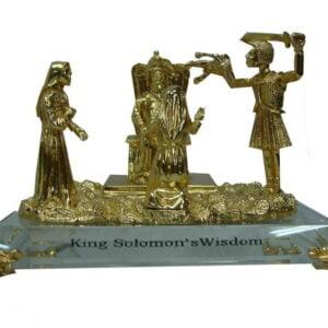 King Solomon's Wisdom Figurine Statue