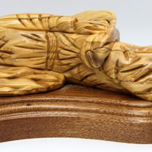 Olivewood Sleeping Saint Joseph Sculpture