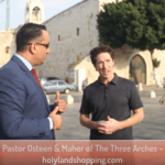Joel Osteen in Nativity Square