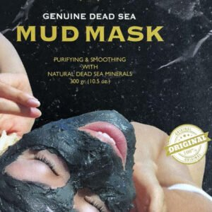 Black Mud Mask From The Dead Sea