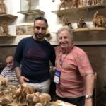 Pastor Dan Betzer & Maher Canawati at Three Arches Gift Store