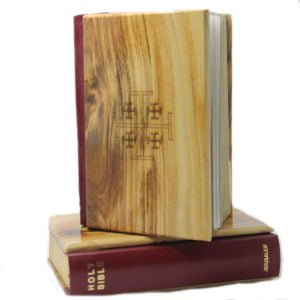 Catholic Bible Olive Wood Hardcover