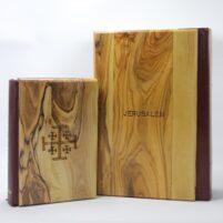 King James Bible - Olive Wood Hardcover