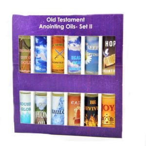 Anointing Oils Old Testament – Set II