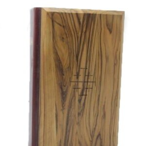 King James Bible – Italian – Olive Wood Hardcover
