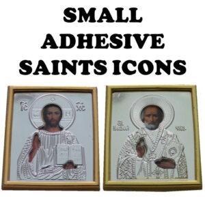 Small Adhesive Saints Icons
