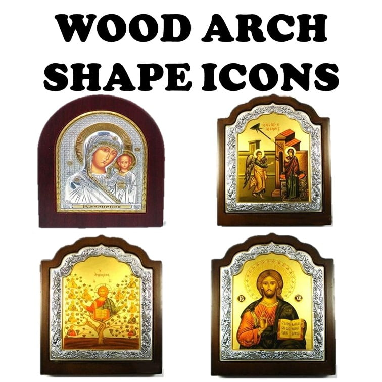 Wood Arch Shape Icons