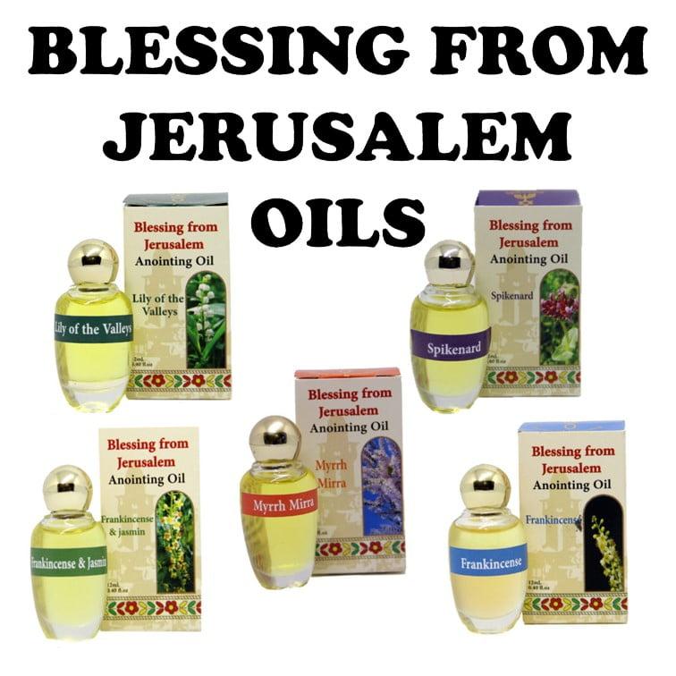 Blessing from Jerusalem Oils