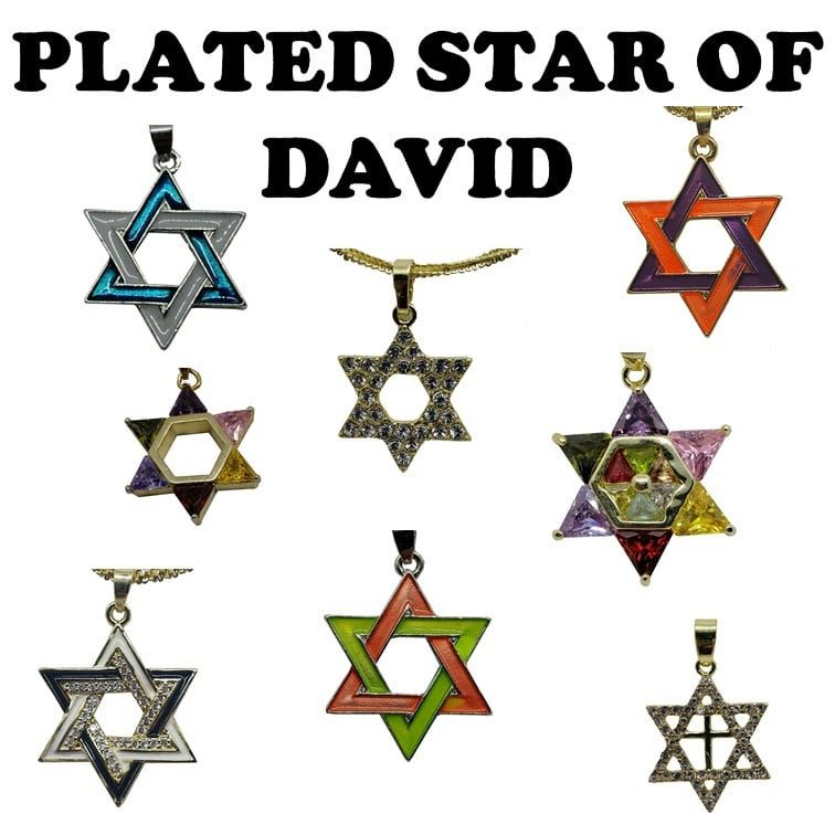 Plated Star of David