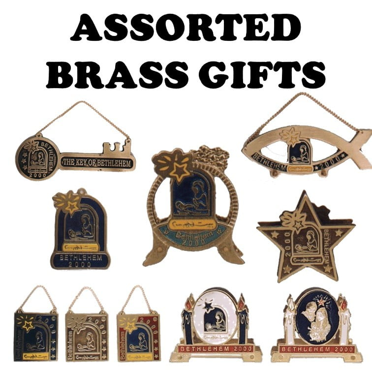 Assorted Brass Gifts