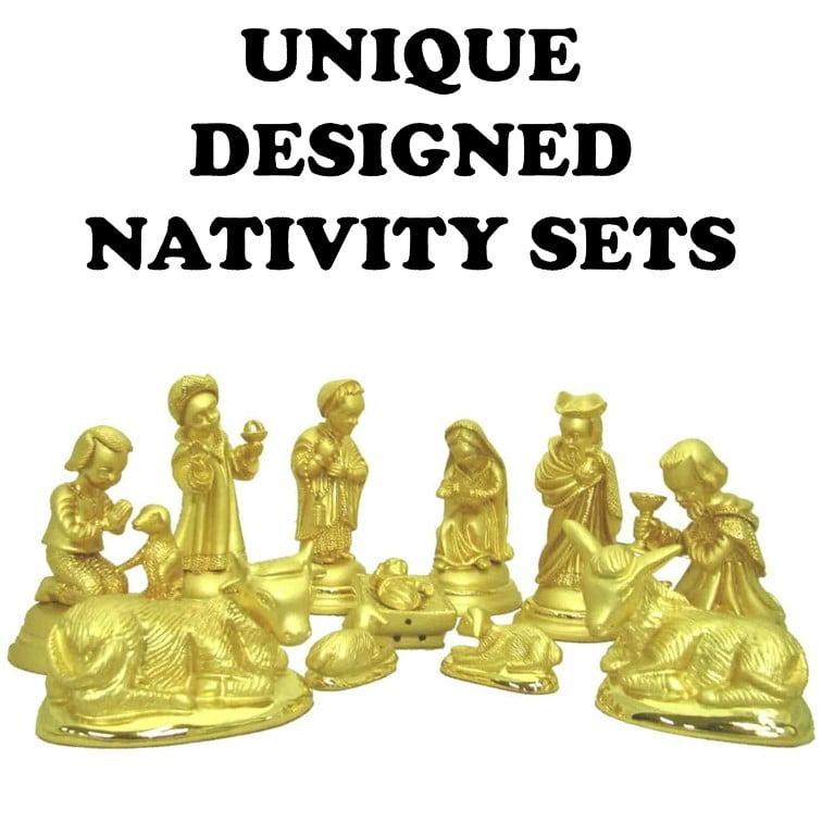 Unique Designed Nativity Sets